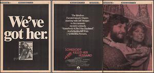 SOMEBODY-KILLED-HER-HUSBAND-Original-1978-Trade-AD-poster-FARRAH-FAWCETT
