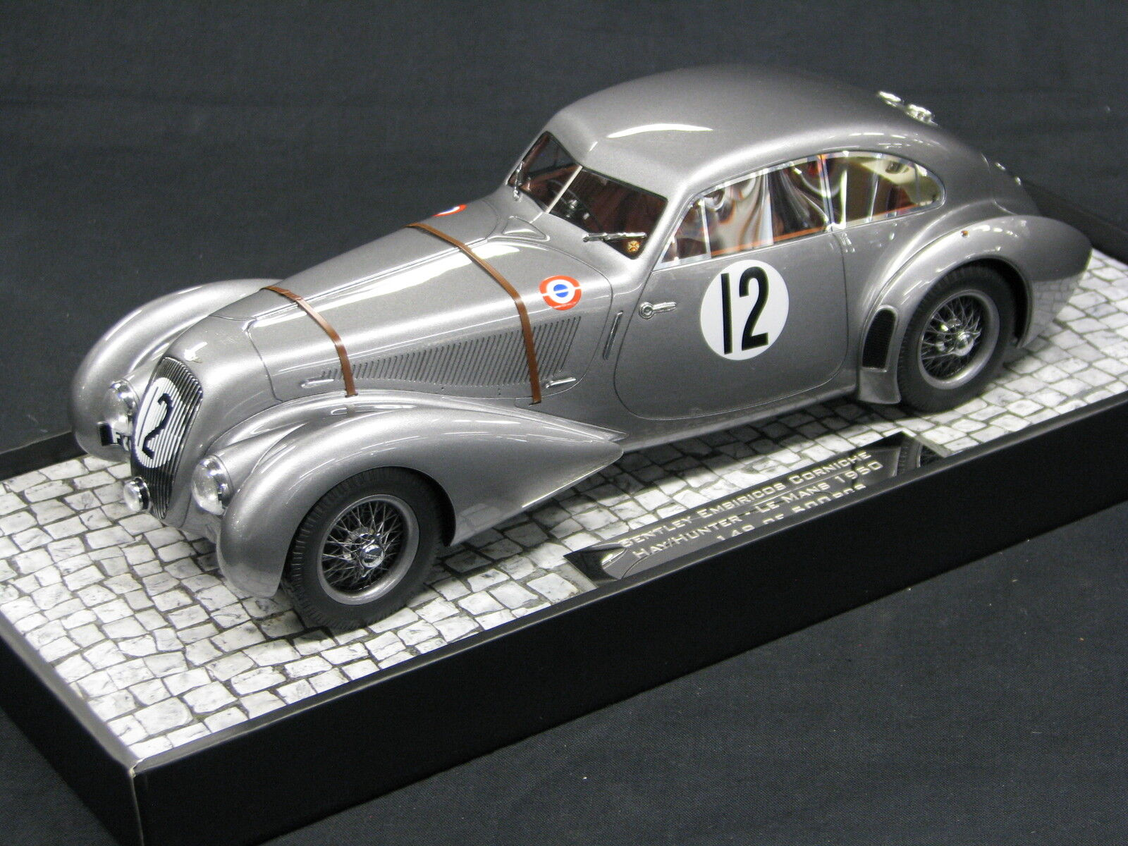 Minichamps Bentley Embriricos Corniche 1950 1 18  12 Hay   Hunter 24h Le Mans