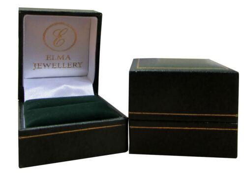 Corte Cuadrado Titanio engagemet Anillo Cubic Zirconia Piedra Anillo 5mm