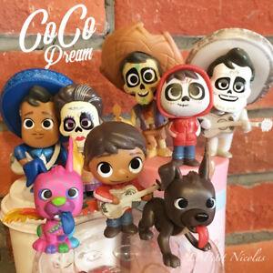 Disney-Pixar-film-Coco-lot-de-8-figurines-modele-Miguel-Hector-tres-jolie-jouets
