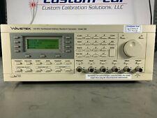Wavetek Model 395 100mhz Synthesized Arbitrary Waveform Generator As Is
