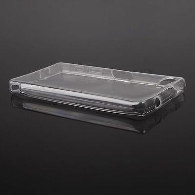 % Silikonhülle CLEAR Case Cover Hülle Flipcase ganz transparent für Wiko Jerry