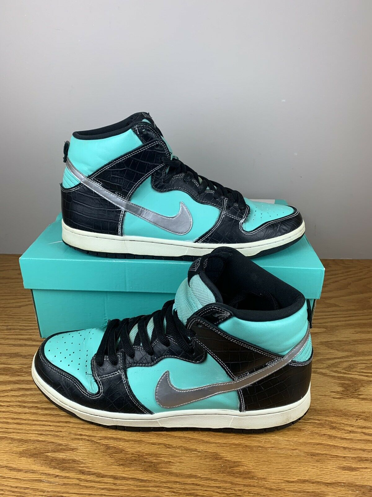Nike X Diamond Supply Co Dunk High Sz 12