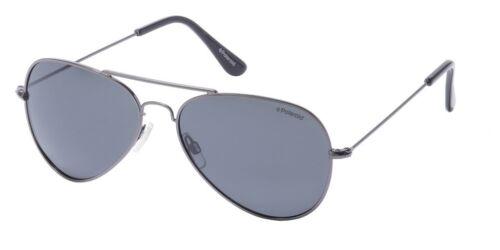 Occhiali da sole Sunglasses Polaroid 04213 A4X Y2 58 GRIGIO POLARIZZATO 100/% UV