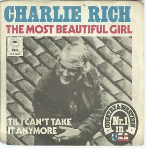 45-TOURS-2-TITRES-CHARLIE-RICH-THE-MOST-BEAUTIFUL-GIRL