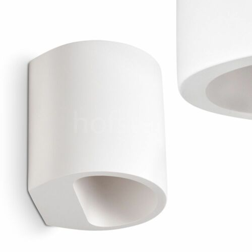 Wohn Schlaf Raum Flur Dielen Leuchte Up /& Down Strahler Keramik weiß Wand Lampe