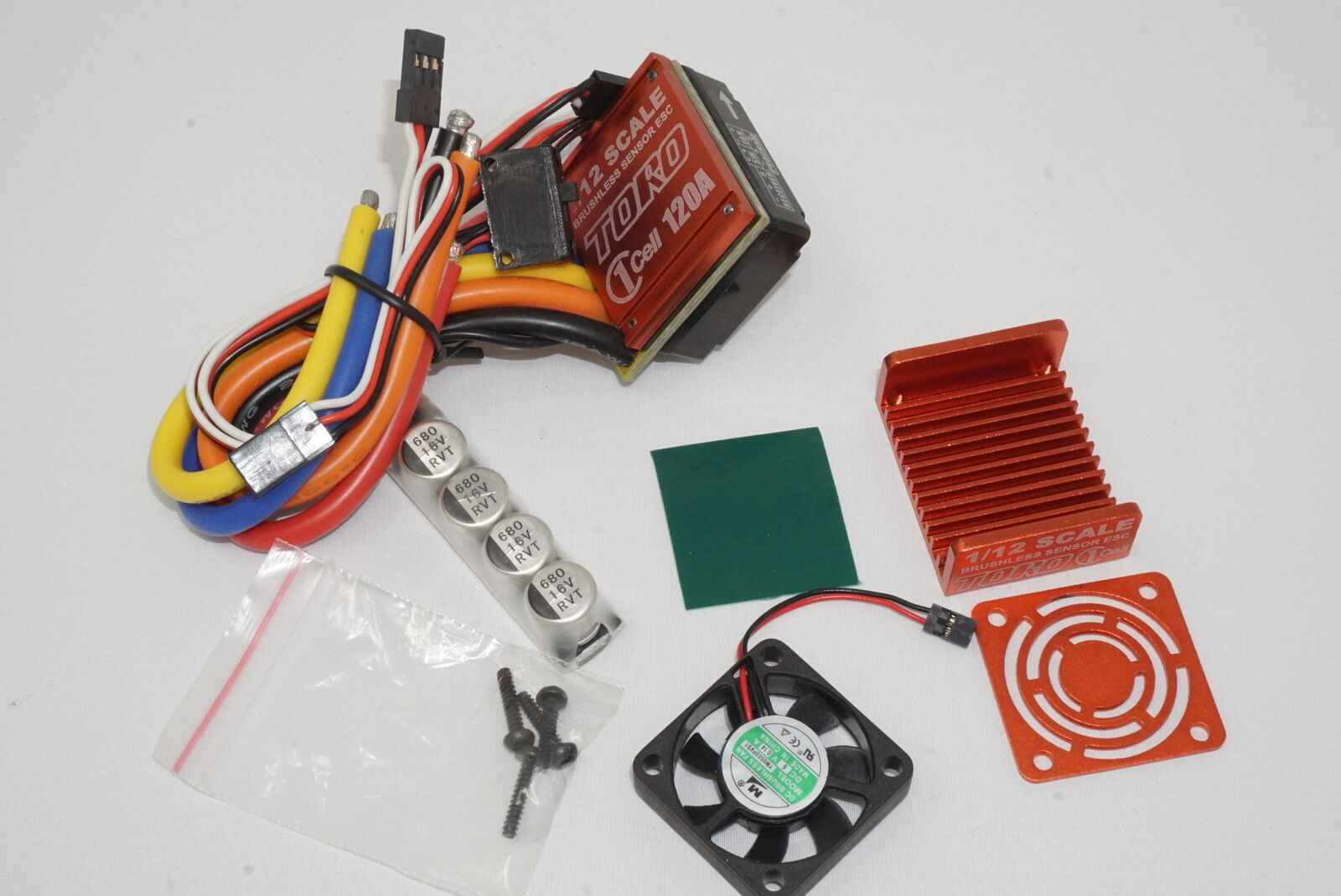 Sky RC Tgold One Cell 120A Electronic Speed Control   ESC for 1 12 Cars
