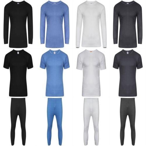 Mens Thermal Long Johns Top Bottom Underwear Trousers T Shirt Set S M L XL XXL