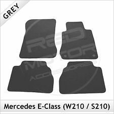 Tailored Carpet Floor Mats for MERCEDES E-Class W210 S210 1995-2002 GREY