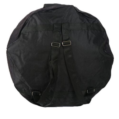 Tragbare Black Bass Drum Bag Aufbewahrungstasche für 22 Zoll Bassdrum