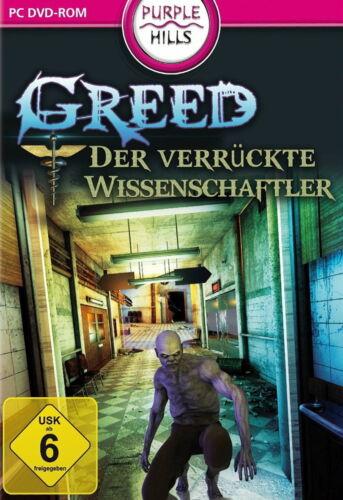 1 von 1 - Greed: Der verrückte Wissenschaftler (PC, 2014, DVD-Box) ***Neu und OVP***