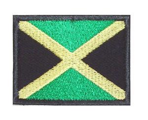 Patch-Aufnaeher-Aufnaeher-034-JAMAIKA-034-FLAGGE-REGGAE-BOB