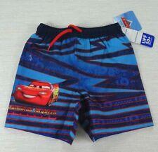 Disney Pixar Cars Lightning McQueen Toddler Swim Shorts Sizes 2T 3T 4T 5T #178