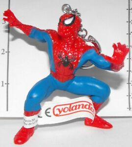 Spider-man Figurine Keychain MARVEL Spiderman Key Chain Made by Yolanda SHMVK406