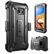 Samsung Galaxy S7 Active SUPCASE Unicorn Beetle Pro Rugged Holster Black Case