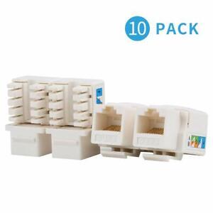 AMPCOM-10-Pack-CAT6-RJ45-Keystone-Jack-Punch-Down-Ethernet-Module-Connector