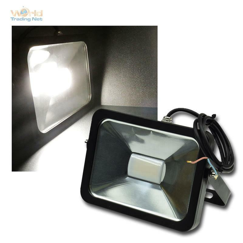 30W LED fluter 12-24V dc IP65 daylight zb an wohnmobil flutlicht strahler