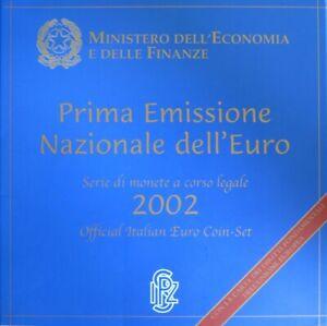 0541 - Coffret Bu Italie - 2002 - 1 Cent à 2 Euros