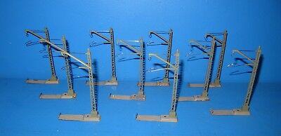 250 Mast für Fahrleitung 2 Electrotren Ref 10 Stück Spur H0