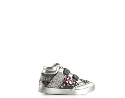 2019 Nuovo Stile Scarpe Lelli Kelly Bambini Sneakers Trendy Argento Pelle Naturale,tessuto Lk692