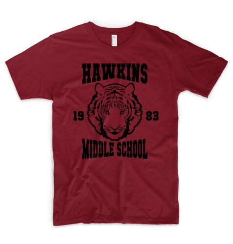 Stranger Things T Shirt Hawkins 1983 Middle School 11 Eleven Friends Don/'t Lie
