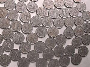 10 X 1948 Lot Anniversaire Lucky Sixpence Coin Une Fabrication De Bijoux Hobby Cadeau-afficher Le Titre D'origine éLéGant Et Gracieux