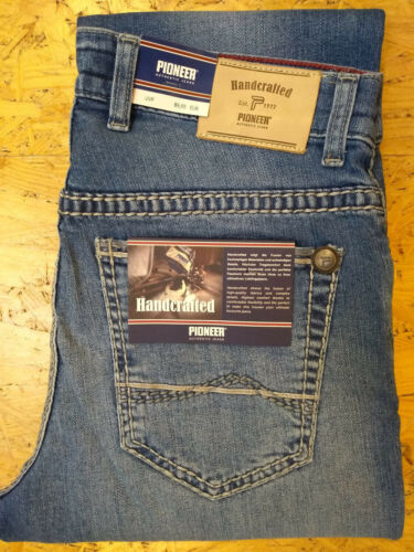 Jeans PIONEER Rando saddle Stitch handcrafted 1654-9772.347