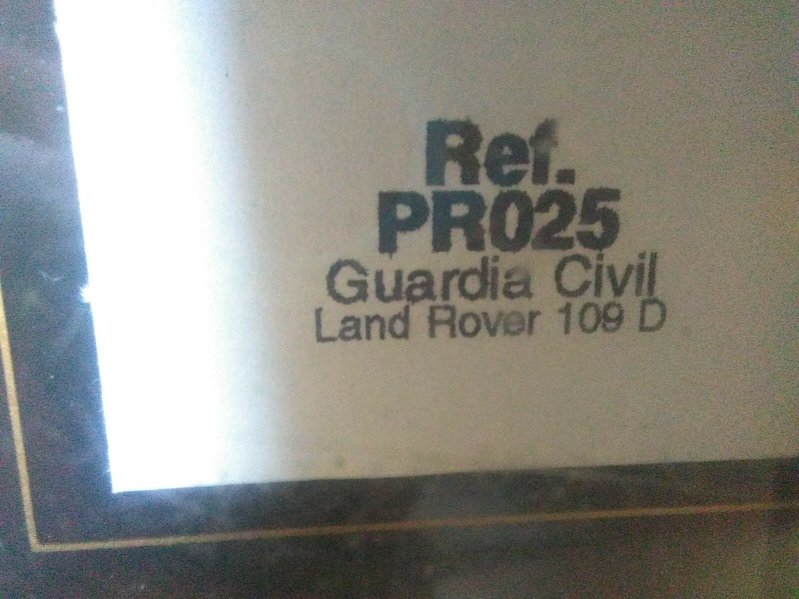 Bonne offre à Noël Noël Noël Antigua miniatura 1:43 Scale Carr PR025 Land Rover Guardia Civil. | Shop  647052