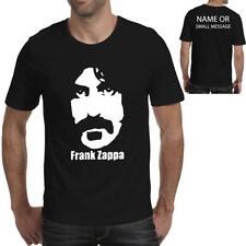 Vitruvian Zappa Mens Funny Rock Vest Frank Music Electric Guitar Band Top
