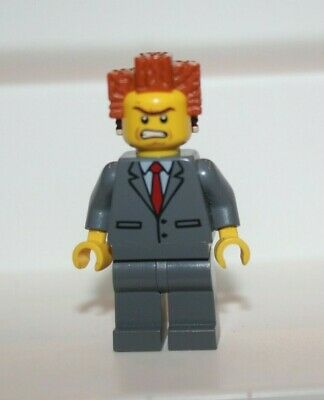 New Genuine LEGO President Business Minifig with Coffee Cup The Lego Movie 71004