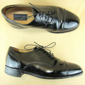 Bostonian-Crown-Windsor-Captoe-Oxford-Polished-Dress-US-8-5-D-B-Men-Leather