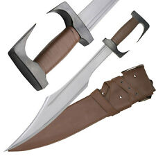 FIXED BLADE KNIFE | 300 Spartan Warrior Sword Gladiator Movie Cosplay DB-300