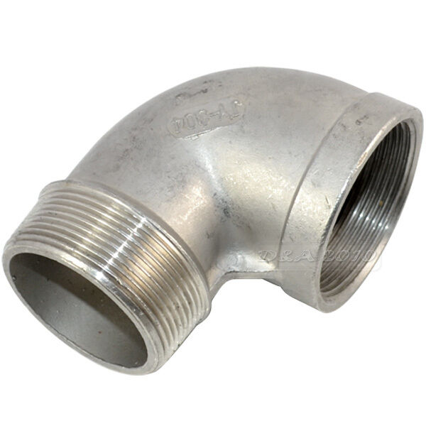 "1/4""-2"" Female x Male street Elbow Threaded Pipe Fitting Stainless Steel 304 BSP"