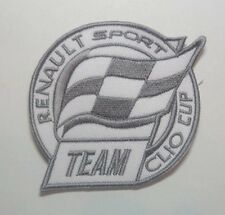 Patch / Ecusson RENAULT SPORT TEAM CLIO CUP
