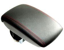 Nissan Juke Leather Arm Rest Red Stitching Armrest + Storage Genuine KE8771K1RE