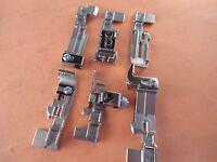 Set Of 6 Presser Feet For Pfaff Serger Coverlock 3.0 Coverlock 4.0 Hobbylock 2.5