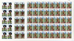 Laos-Stamps-839-41-Sets-40-Complete-Scott-Cat-152