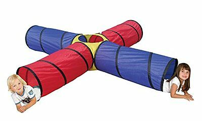 Tunnel Toys Kids Toddler Play Activity Pretend Adventure Indoor Outdoor Portable