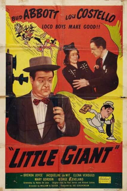 Hold That Ghost Movie POSTER 27 x 40 USA NEW Lou Costello Bud Abbott B