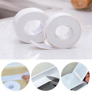 Am-KE-320cm-PVC-Sink-Basin-Crack-Gap-Kitchen-Corner-Trim-Tape-Waterproof-Seali