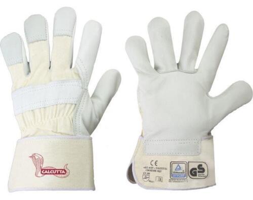 36 Paar Arbeitshandschuhe Leder Rindvollleder Handschuhe Calcutta Stronghand