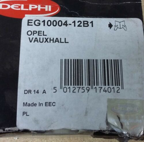 vectra 1.6i 1.4i combo corsa Vanne EGR DELPHI : EG10004-12B1 astra tigra