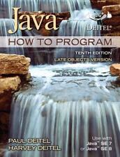 Java How to Program (Late Objects Version) Harvey Paul Deitel 10th Edition