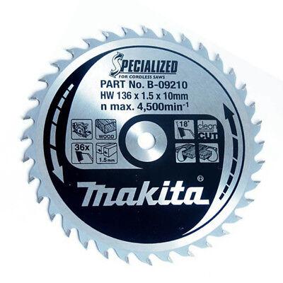 Makita DSS501Z 18V LXT Cordless 136mm Circular Saw Body With 1 x 30T Metal Blade