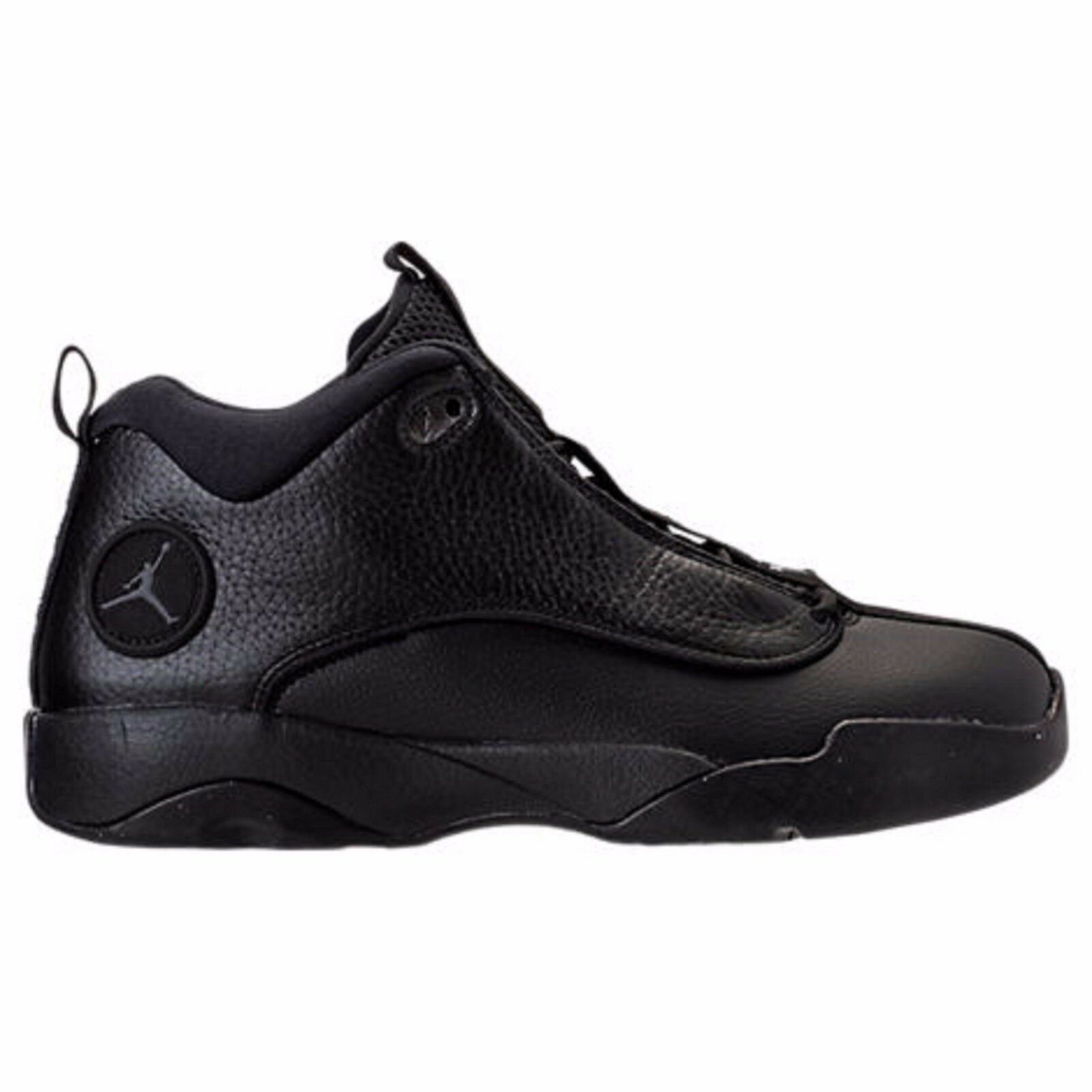 {932687-011} Men's Air Jordan Jumpman Pro Quick Mid Black/Dark Grey *NEW* New shoes for men and women, limited time discount