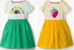 2ab8ed8aec50 Mini Boden girls dress summer 3 4 5 6 7 8 9 10 11 12 years rainbow ...