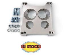 Edelbrock 2696 Four-hole Square-bore to Spread-bore Carburetor Adapter 1