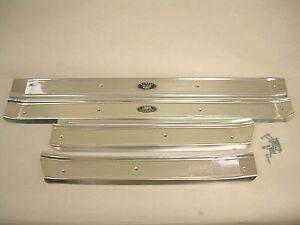 1961 1962 1963 1964 Chevy Impala Belair Door Sill Plates 4 Door Hardtop Sedan Ebay
