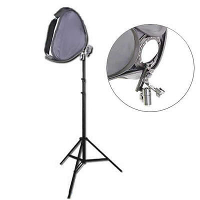 Kit completo DynaSun Softbox EasyFolder SB1009 50x50cm con Stativo W803 x Flash