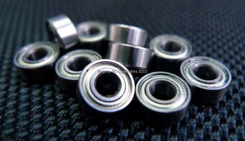 683ZZ 4 St. 3x7x3 MM Metall Geschützt Kugellager Lauflager 683z 3 7 3